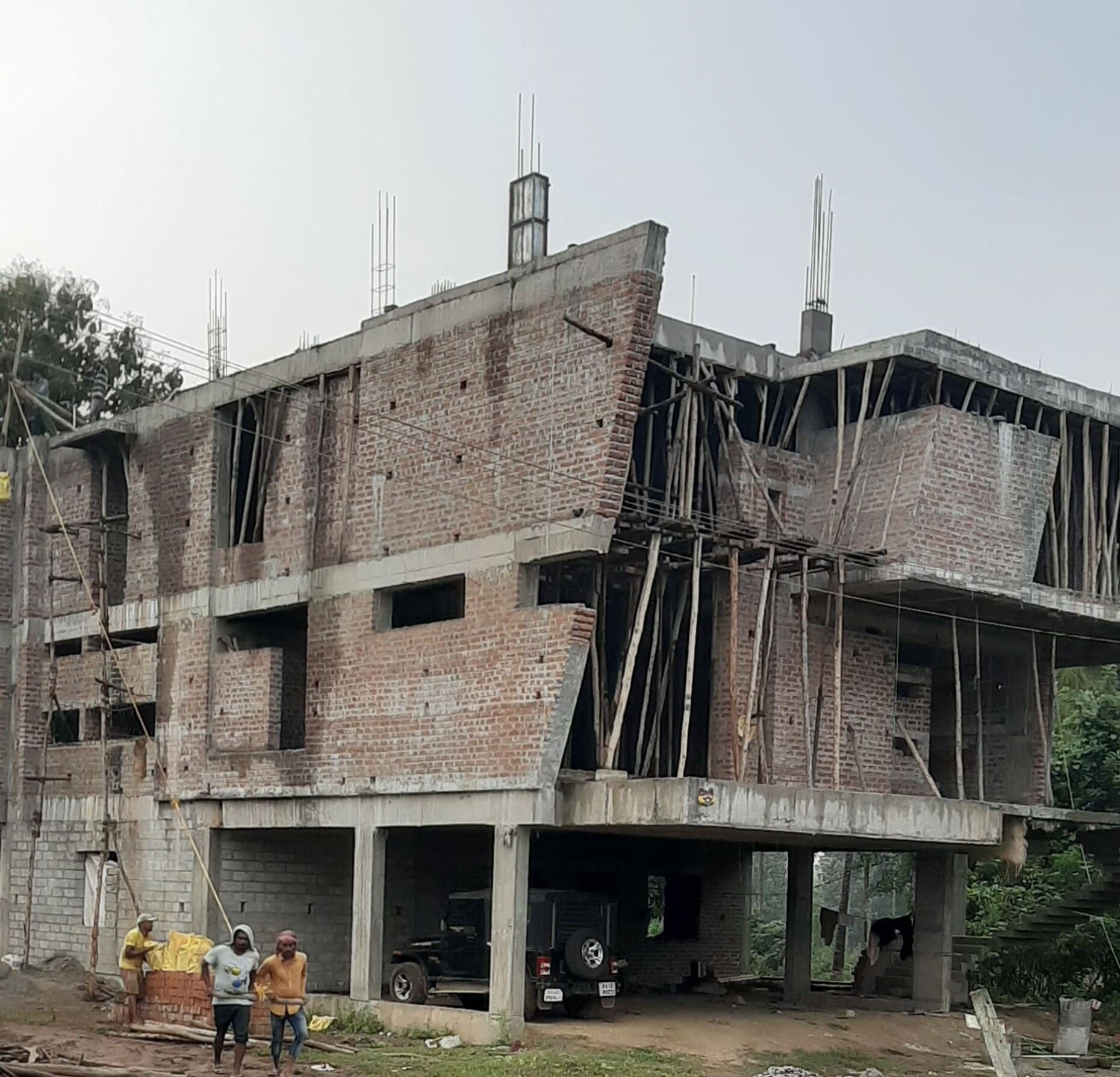 kushalnaga project contruction image 2